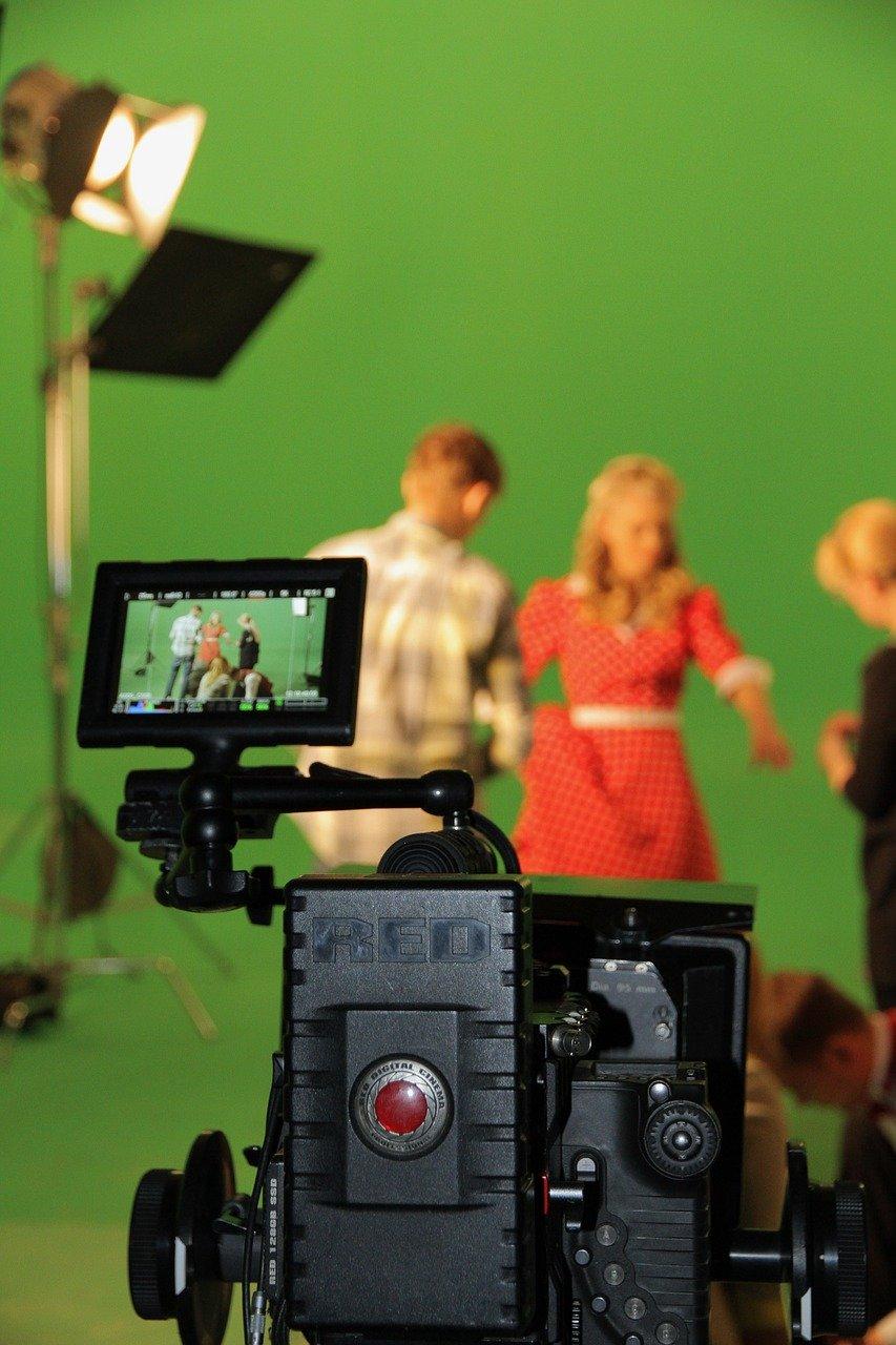 chromakey, shooting, film